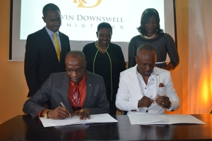 JCDC Signs MoU with Kevin Downswell