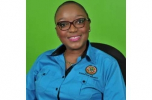 Minister Grange Happy with Corporal McBean becoming the first Woman to Head the Jamaica Police Federation