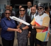 Grange welcomes Queen's Baton Relay to Jamaica