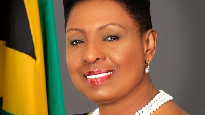 The Minister of Culture, Gender, Entertainment and Sport, the Honourable Olivia Grange, CD, MP