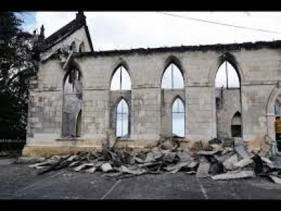 Culture Minister bemoans destruction of historic church in St. Ann