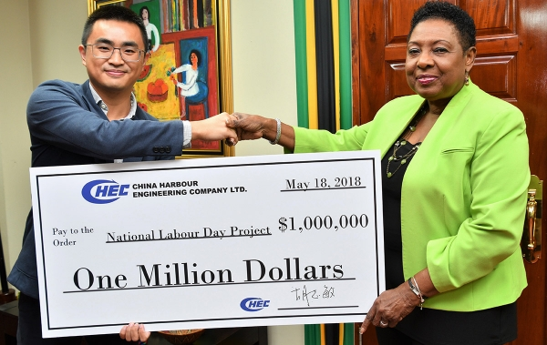 China Harbour gives $1 million to Labour Day programme
