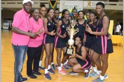Sport Minister Congratulates Kingston Hummingbirds for lifting the Berger Elite League Trophy