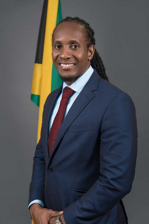 The Honourable Alando Terrelonge, MA, MP - Minister of State in the Ministry of Culture, Gender, Entertainment and Sport