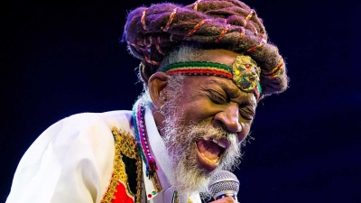 Grange pays tribute to Bunny Wailer