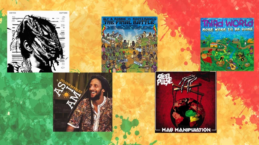 The nominees for Best Reggae Album