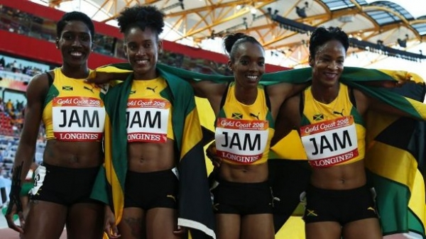 Grange Congratulates Jamaica Commonwealth Games Team