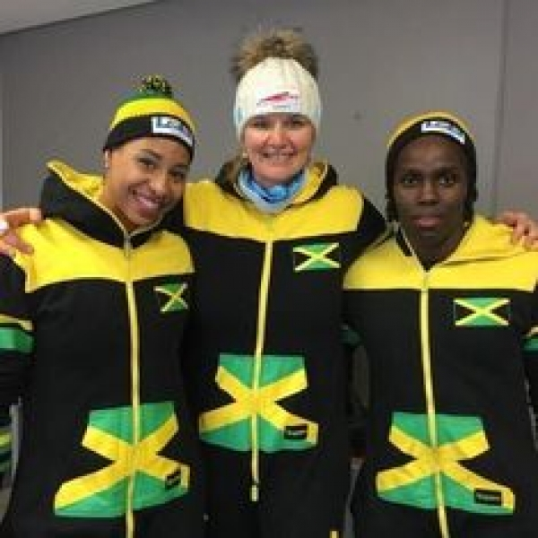 Grange hails history making Women's Bobsleigh team