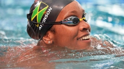SPORT MINISTER GRANGE CONGRATULATES TOP SWIMMER ALIA ATKINSON ON PERFORMANCE AT THE FINA SWIMMING WORLD CUP IN GERMANY