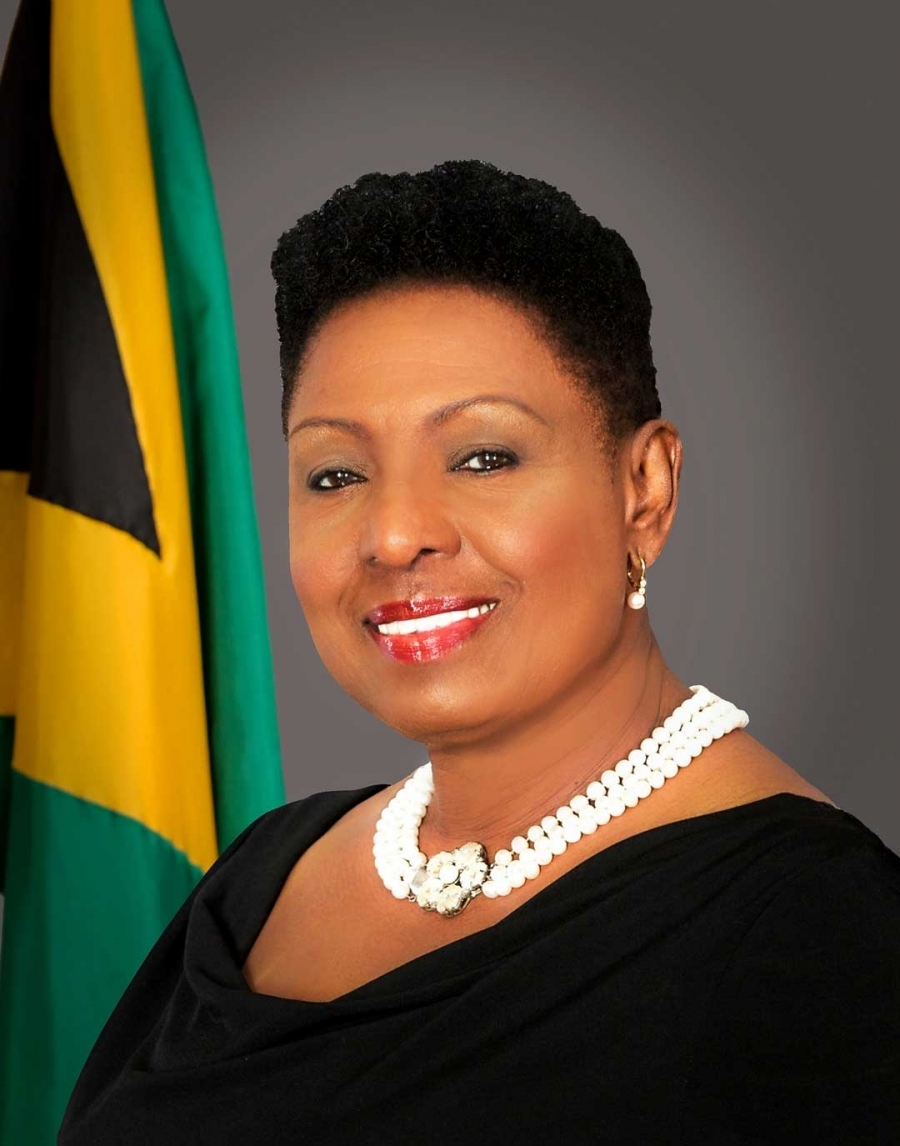 The Honourable Olivia Grange, CD, MP  - Minister of Culture, Gender, Entertainment and Sport