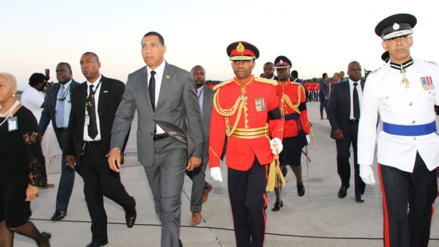 Prime Minister, the Most Honourable Andrew Holness